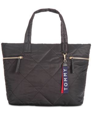 KENSINGTON QUILTED NYLON TOTE