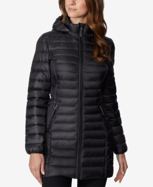 Image of 32 Degrees Hooded Packable Down Puffer Coat