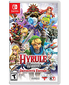 Nintendo Switch Hyrule Warriors DefiniteEd