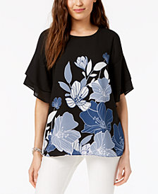 Top for Women On Sale, Black, Cotton, 2017, 10 6 8 N°21