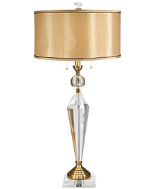 Dale Tiffany Strada Crystal Table Lamp