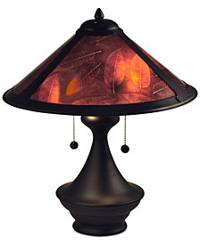 Dale Tiffany Chalton Mica Table Lamp