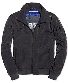 Superdry Men's Moody Night Flight Bomber Jacket