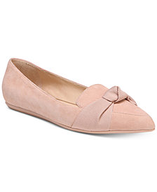 Franco Sarto Adrianni Pointed-Toe Slip-On Flats