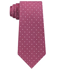 Men's Mini Oxford Square Slim Silk Tie