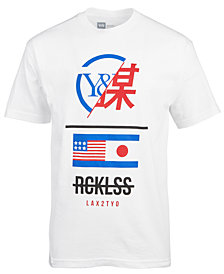 Young & Reckless Men's Shinjuku Logo-Print T-Shirt
