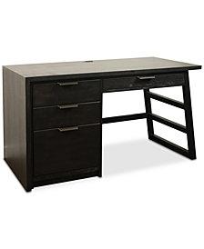 Ridgeway Home Office Single Pedestal Desk