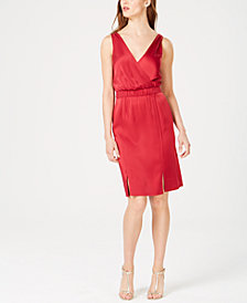 Rachel Zoe Norah Surplice Sheath Dress