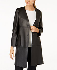 Weekend Max Mara Delis Leather Jacket