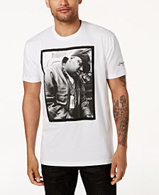 Sean John Men's White Party Biggie Graphic-Print T-Shirt