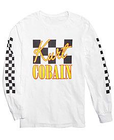 Kurt Cobain Men's Long Sleeve T-Shirt by FEA