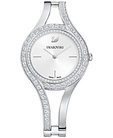 Swarovski Women's Swiss Eternal Crystal Bracelet Watch 30mm
