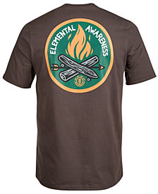 Element Men's Elemental Awareness Graphic-Print T-Shirt
