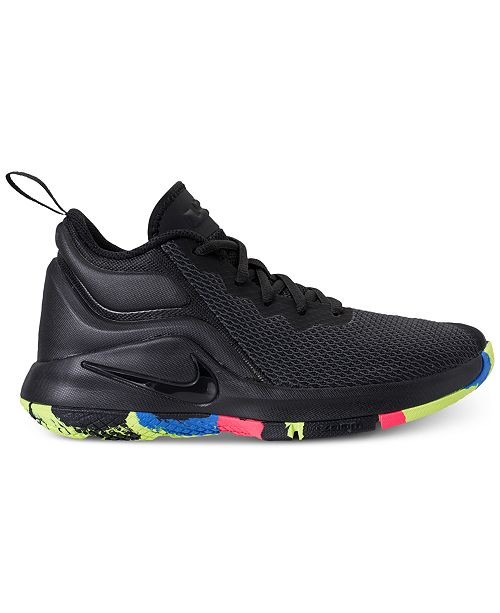 d158e9602ec7 ... Nike Big Boys  LeBron Witness II Basketball Sneakers from Finish Line  ...