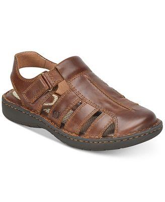 Born Men S Justice Closed Toe Fisherman Sandals All Men S Shoes