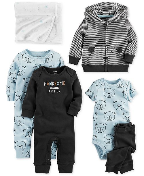 8287d4bc3 Carter s Baby Boys Bear-Print Separates   Reviews - Sets   Outfits ...