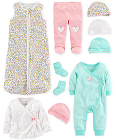 Carter's Baby Girls Floral-Print Layette Separates