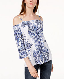 I.N.C. Off-The-Shoulder Top, Created for Macy's