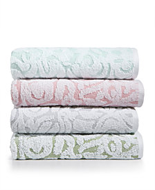 LAST ACT! Mainstream International Inc. Sculpted Cotton Towel Collection