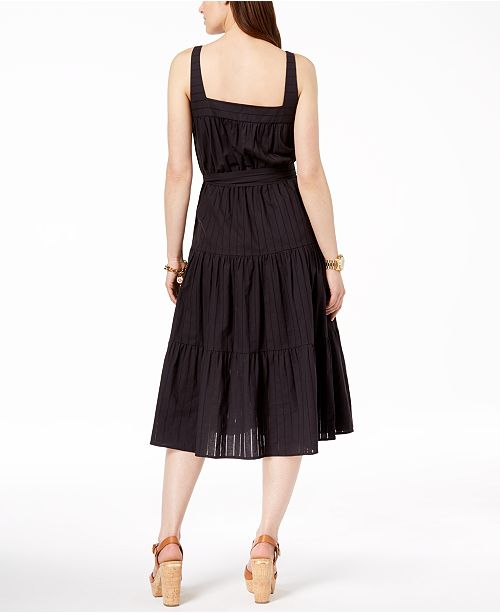 Michael Kors Cotton Tiered Dress Created For Macys Dresses