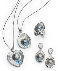 Mabé Pearl Jewelry Collection in Sterling Silver