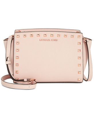 Selma Studded Messenger by Michael Michael Kors