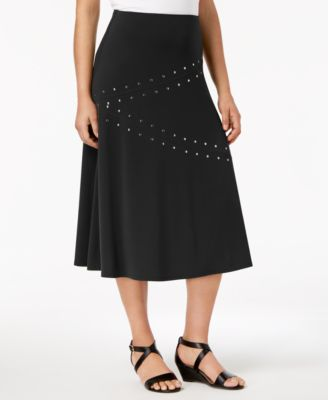 Embellished A-Line Skirt, Created for Macy's