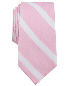 Bar III Men's Ossie Stripe Skinny Tie, Created for Macy's