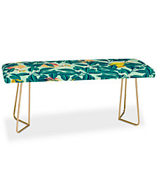 Deny Designs 83 Oranges Lemon Pattern Bench