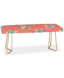 Deny Designs Ninola Design Sweet Roses Bouquets Bench