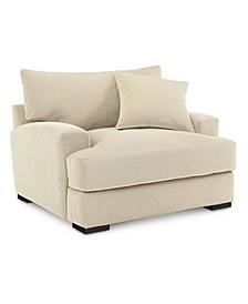 """Rhyder 49"""" Fabric Armchair, Created for Macy's"""