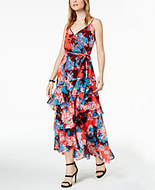 Bar III Ruffled Maxi Dress, Created for Macy's