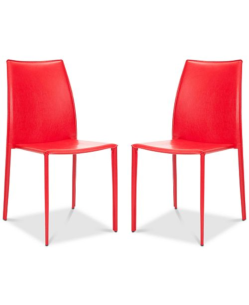 Safavieh Olanta Stacking Chairs (Set Of 2)