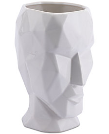 Zuo Facetas White Small Sculpture