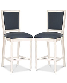 Evina Bar Stool (Set Of 2), Quick Ship