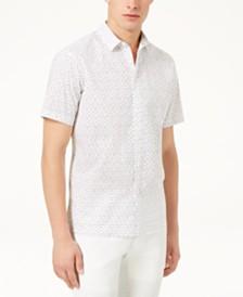 I.N.C. Men's Owens Printed Shirt, Created for Macy's