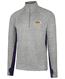 '47 Brand Men's Los Angeles Lakers Evolve Forward Quarter Zip Pullover