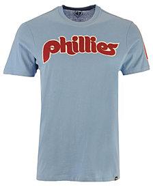 '47 Brand Men's Philadelphia Phillies Fieldhouse Basic T-Shirt