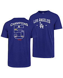 '47 Brand Men's Los Angeles Dodgers Coop MVP Collection T-Shirt