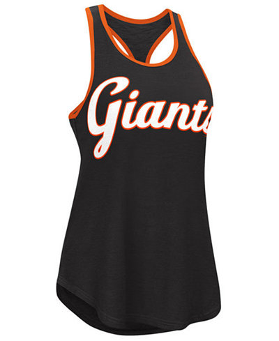 G-III Sports Women's San Francisco Giants Oversize Logo Tank