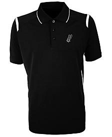 Antigua Men's San Antonio Spurs Merit Polo Shirt
