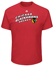 Majestic Men's Chicago Blackhawks Appeal Play T-Shirt