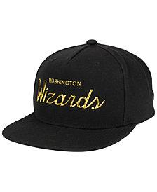 Mitchell & Ness Washington Wizards Metallic Tempered Snapback Cap