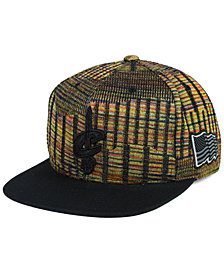 Mitchell & Ness Cleveland Cavaliers Black Flag Snapback Cap