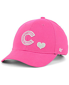 '47 Brand Girls' Chicago Cubs Sugar Sweet MVP Cap