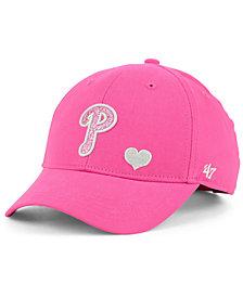 '47 Brand Girls' Philadelphia Phillies Sugar Sweet MVP Cap