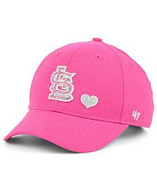 '47 Brand Girls' St. Louis Cardinals Sugar Sweet MVP Cap