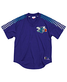 Mitchell & Ness Men's Charlotte Hornets Winning Team Mesh V-Neck Jersey