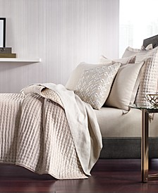 CLOSEOUT! Velvet Quilted Coverlet & Sham Collection, Created for Macy's