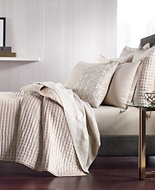 CLOSEOUT! Hotel Collection Velvet Quilted Coverlet & Sham Collection, Created for Macy's